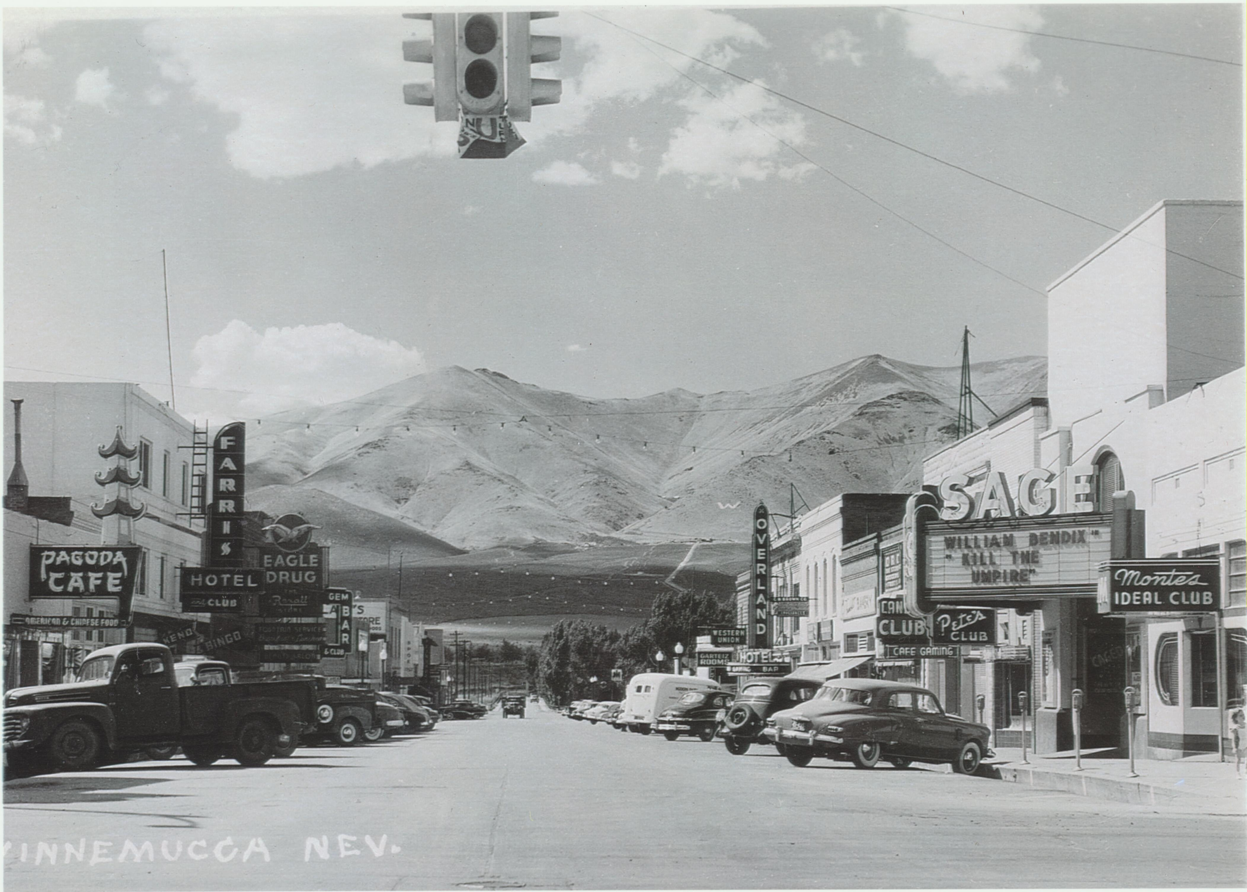 Bridge Street in 1950