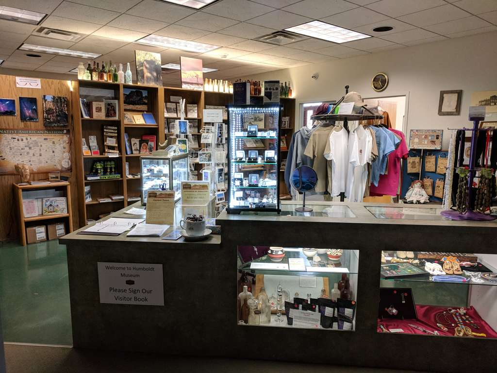 Humboldt Museum Gift Shop -  March 2018